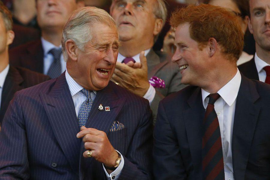 Charles et Harry