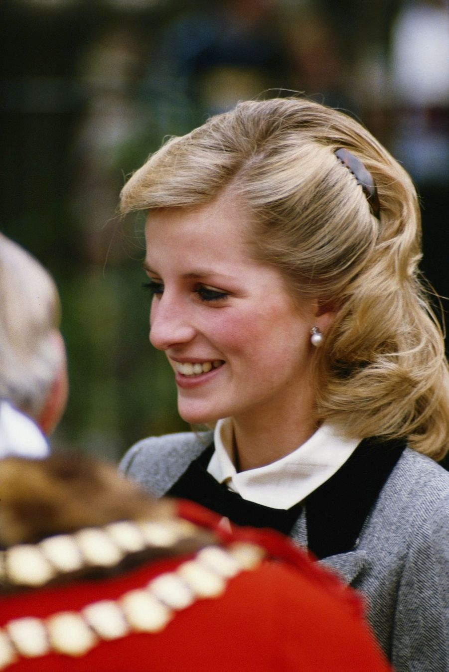 La princesse Diana, photographiée par Jayne Fincher, en novembre 1984.