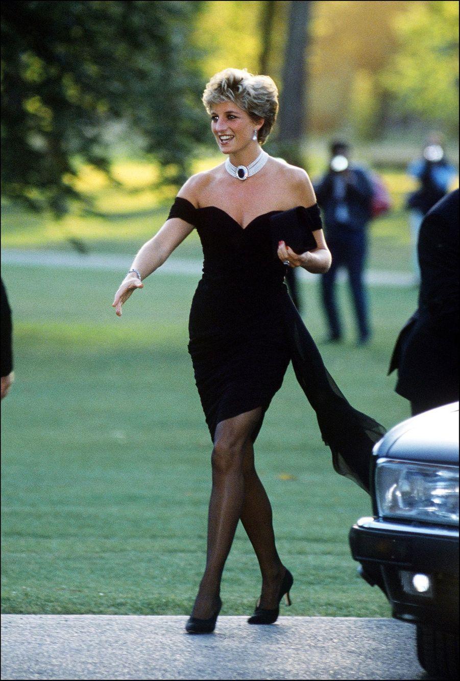 La princesse Diana, photographiée par Jayne Fincher, à Londres en juin 1994.