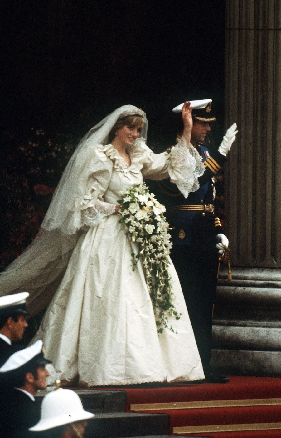 Le mariage de Diana Spencer avec le prince Charles, photographié par Jayne Fincher, le 29 juillet 1981.