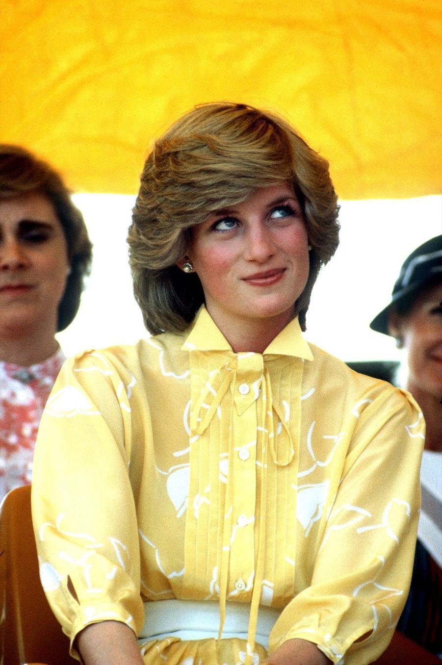 La princesse Diana, photographiée par Jayne Fincher, en Australie le 21 mars 1983.
