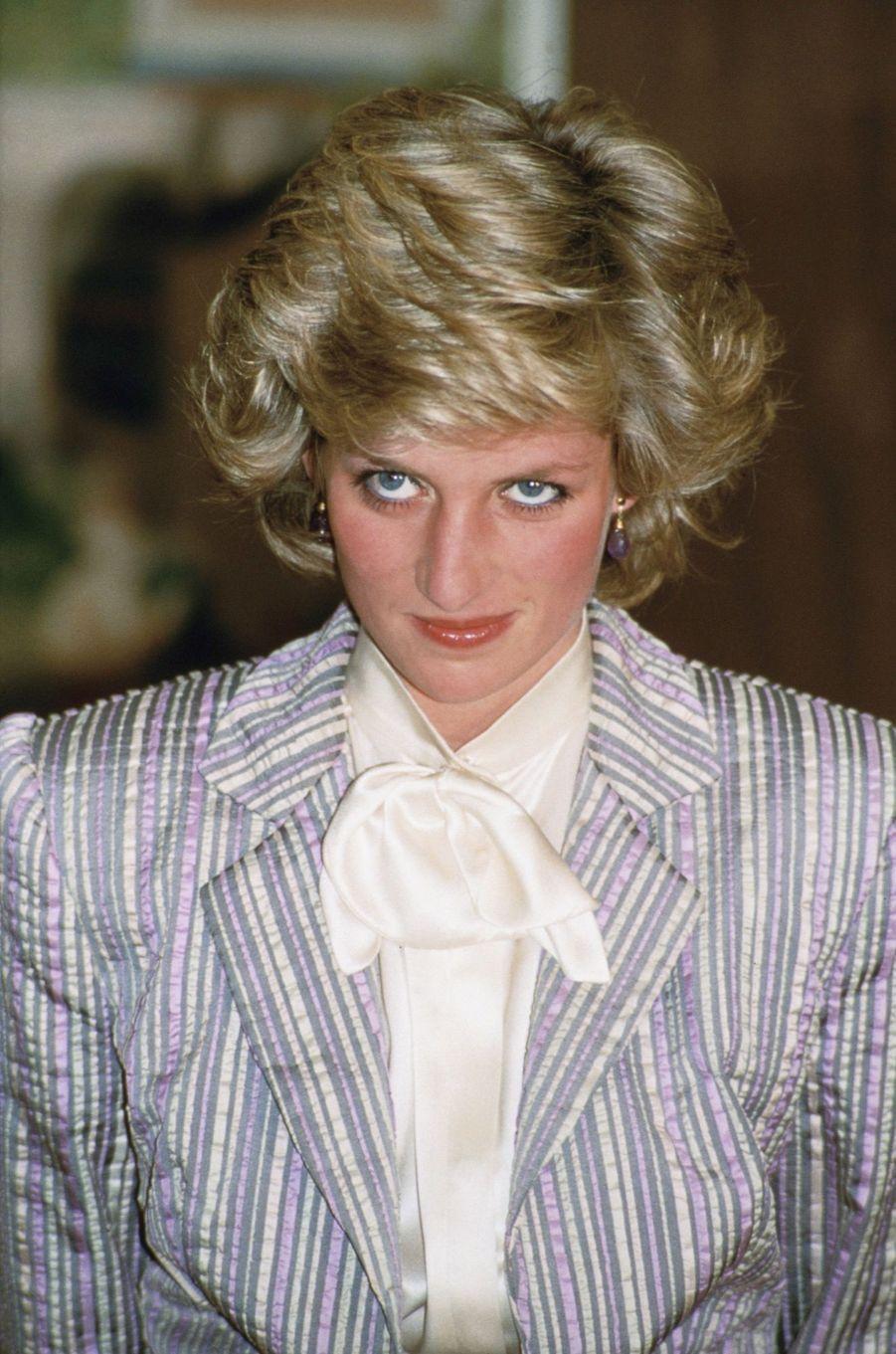 La princesse Diana, photographiée par Jayne Fincher, à Rome en avril 1984.