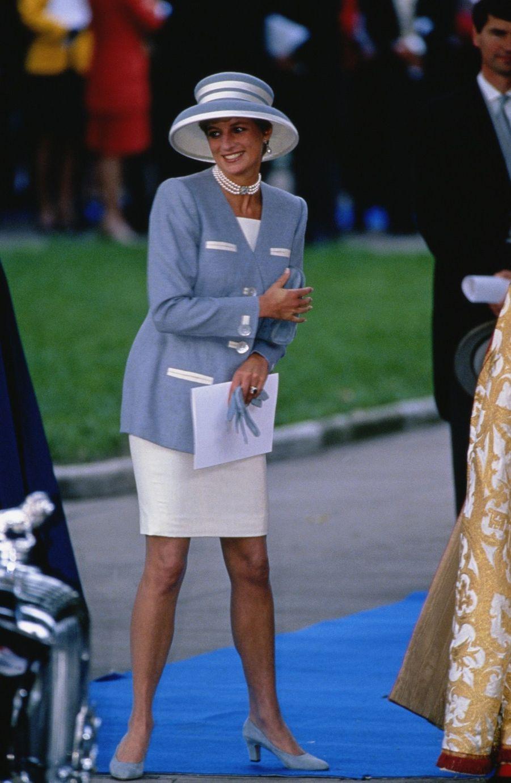 La princesse Diana, photographiée par Jayne Fincher, à Londres le 8 octobre 1993.