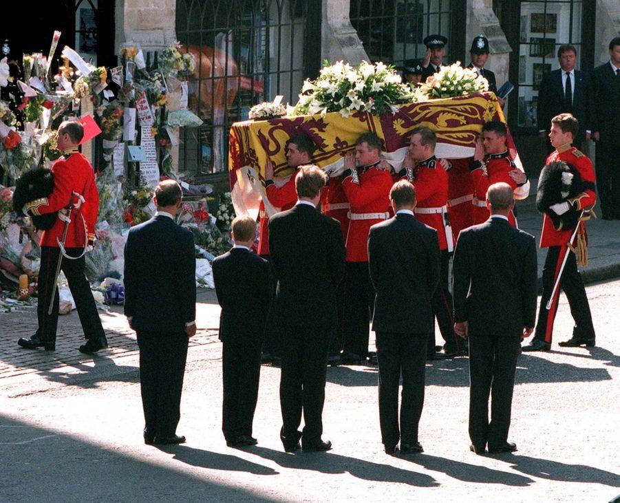 Les funérailles de Diana, photographiées par Jayne Fincher, le 6 septembre 1997.