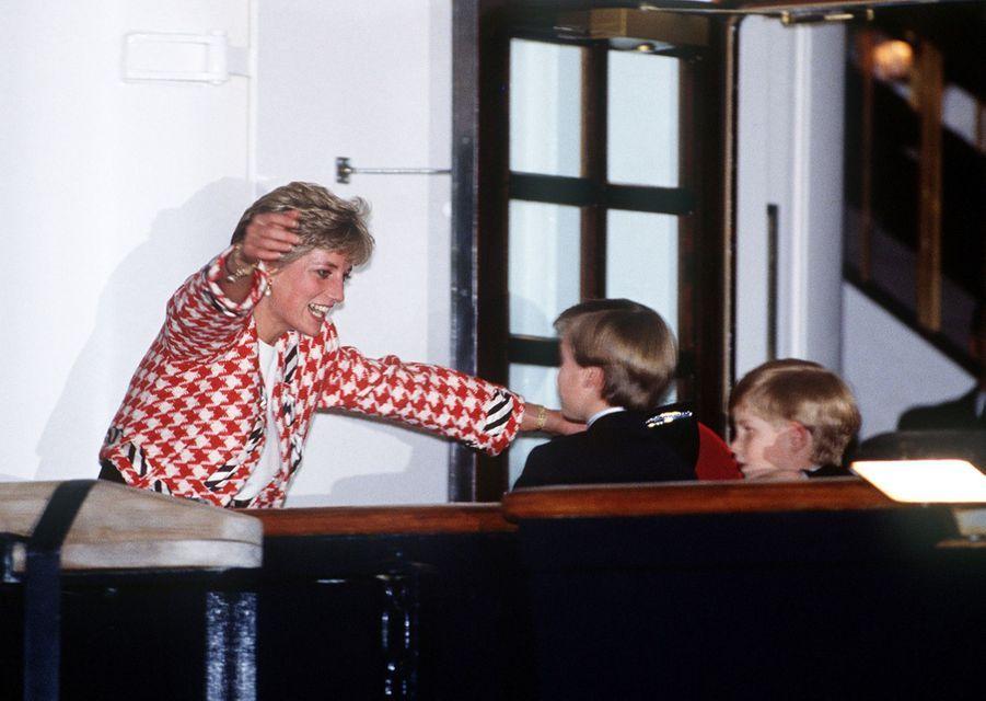 La princesse Diana, photographiée par Jayne Fincher, au Canada le 23 octobre 1991.