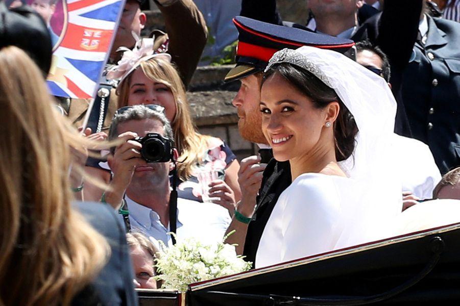 Photo prise lors du mariage le 19 mai 2018.