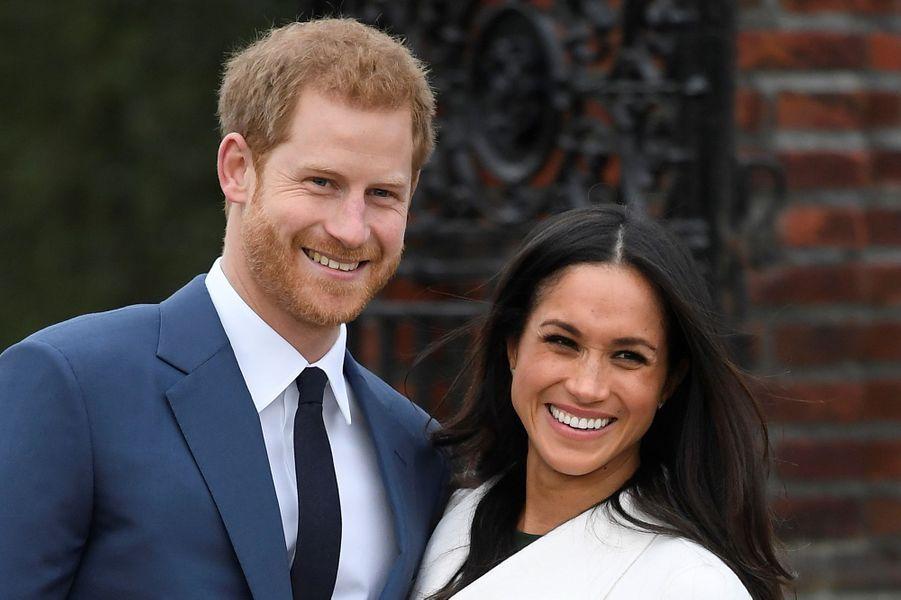 L'annonce des fiançailles, le 27 novembre 2017.