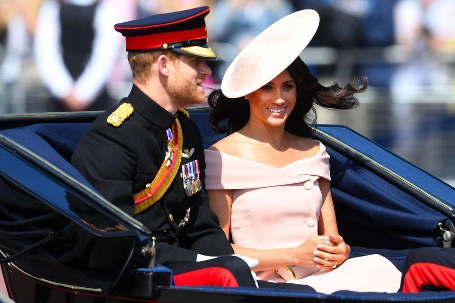 Auprès du prince Harry le 9 juin 2018