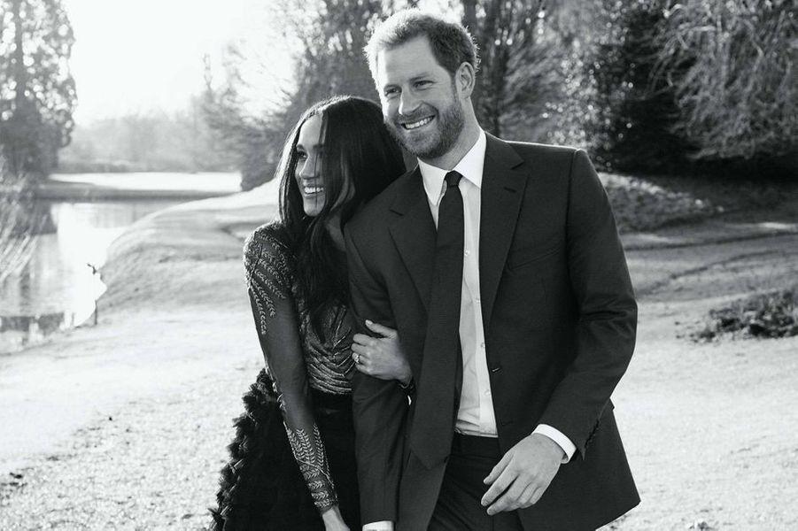 La photo officielle des fiançailles