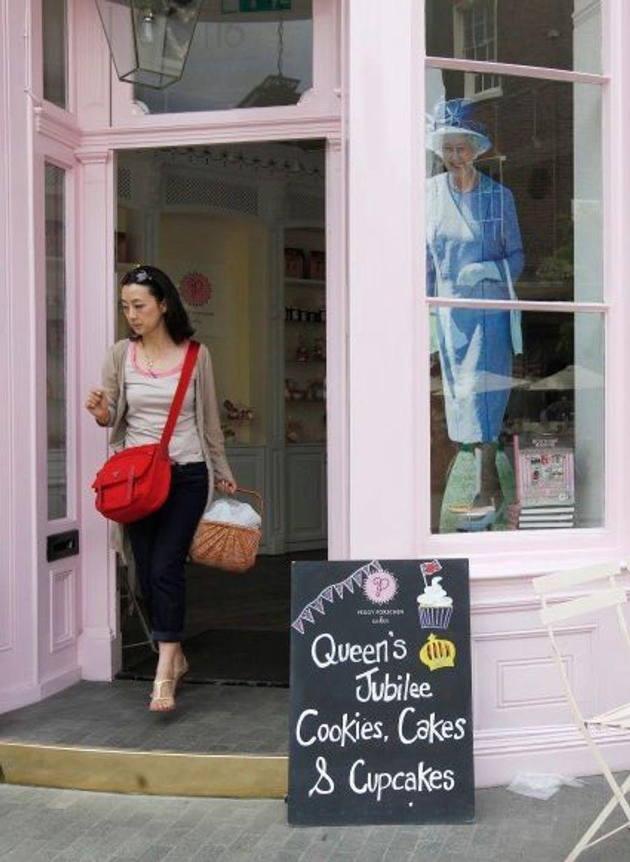 Des pâtisseries, en devanture sur Elizabeth Street.