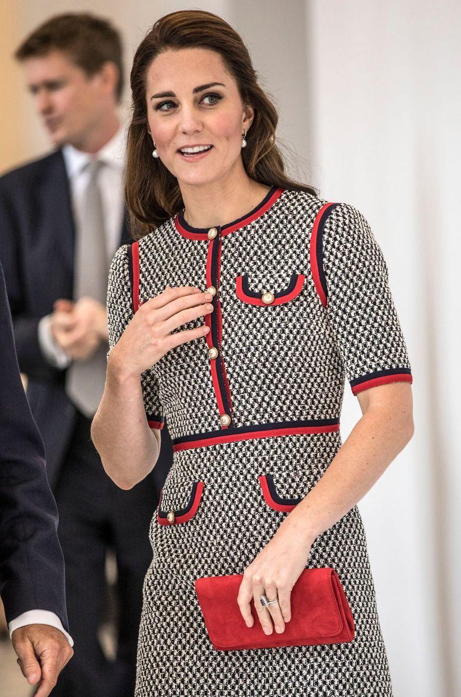 La duchesse Catherine de Cambridge à Londres, le 29 juin 2017