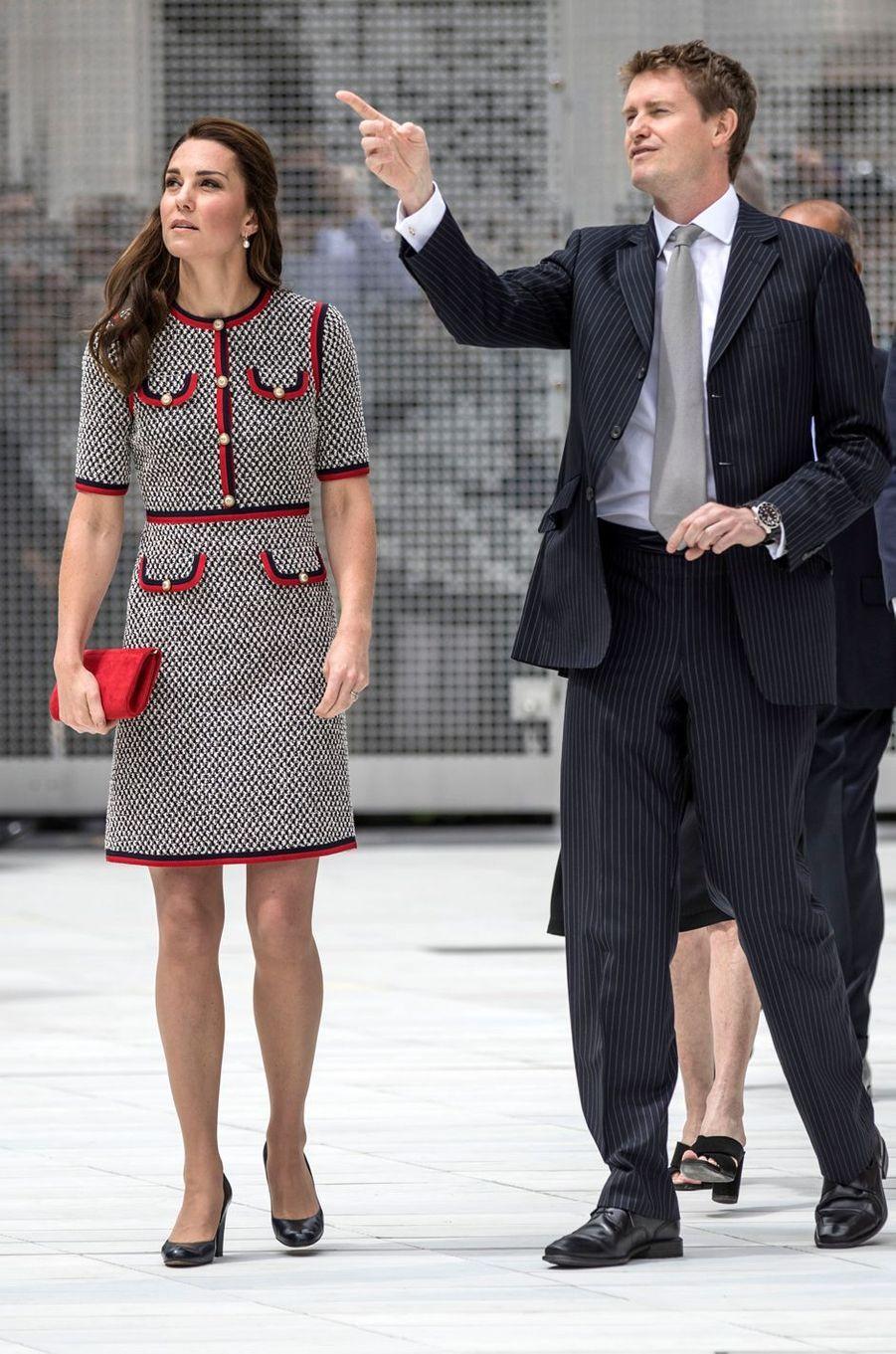 Kate Middleton à Londres, le 29 juin 2017