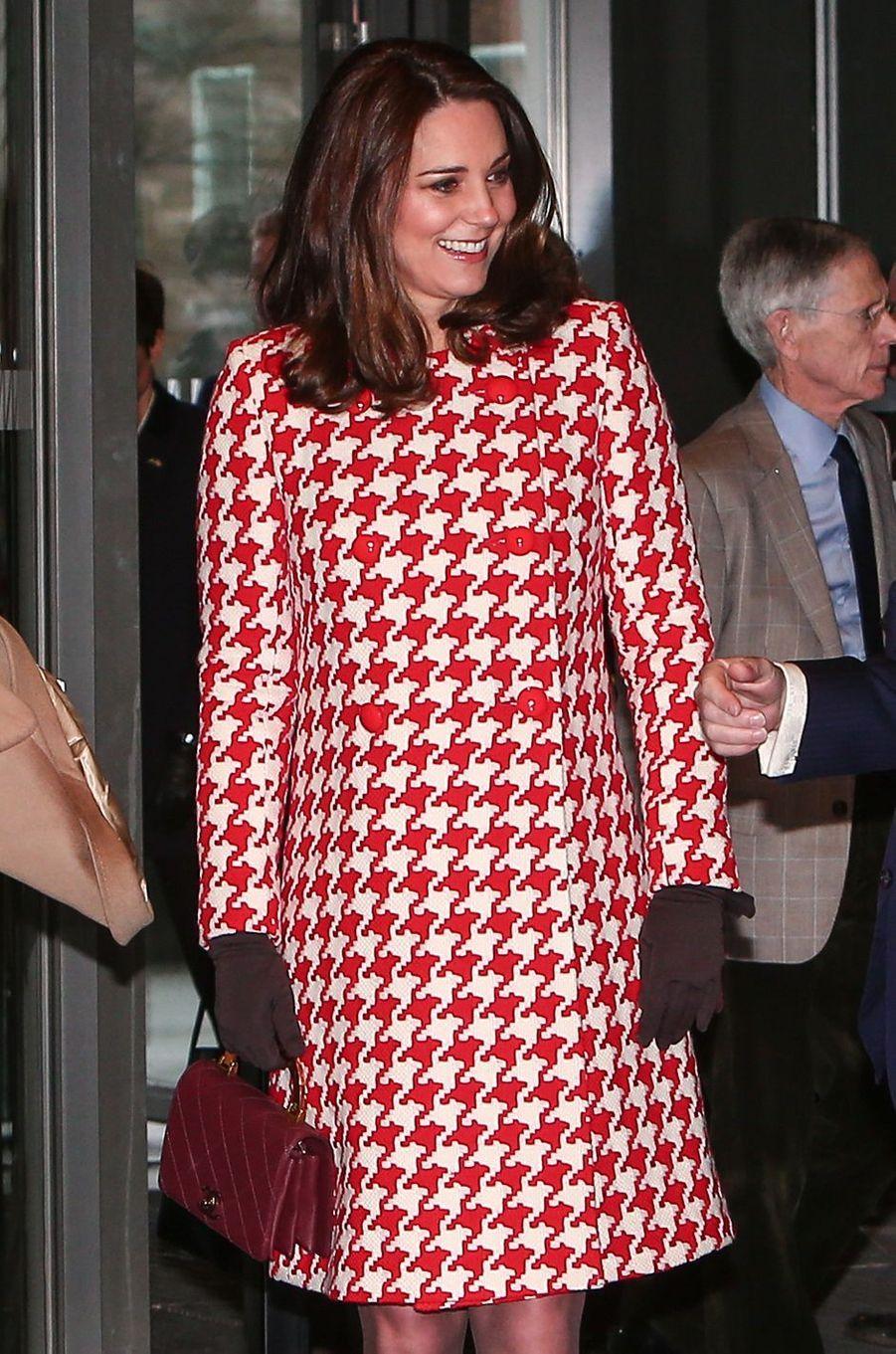 La duchesse de Cambridge à Stockholm, le 31 janvier 2018