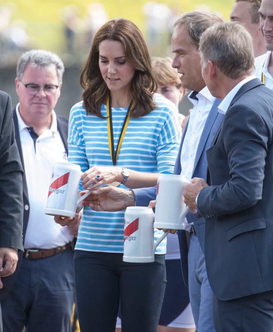 Kate Middleton Et William Font De L'aviron À Heidelberg En Allemagne 10