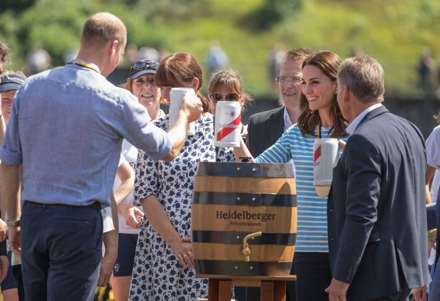 Kate Middleton Et William Font De L'aviron À Heidelberg En Allemagne 14
