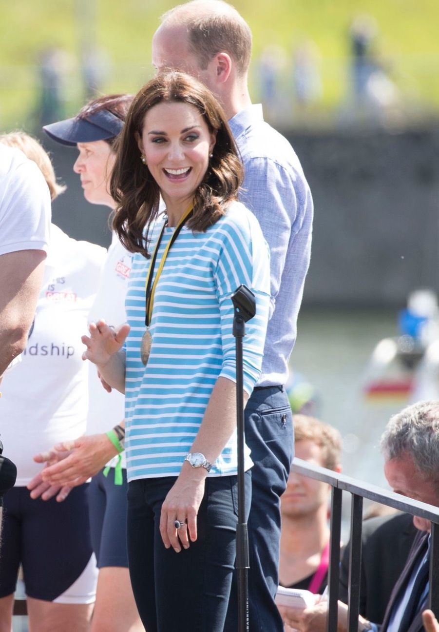 Kate Middleton Et William Font De L'aviron À Heidelberg En Allemagne 2