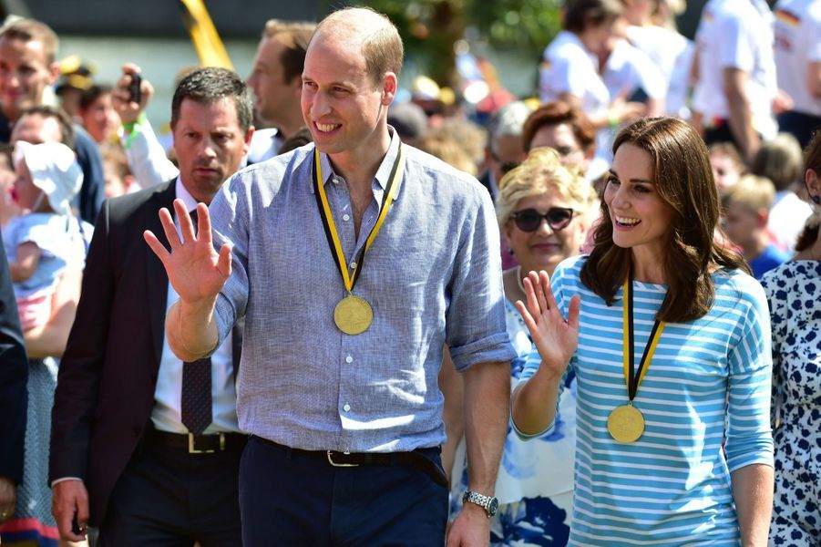 Kate Middleton Et William Font De L'aviron À Heidelberg En Allemagne 23