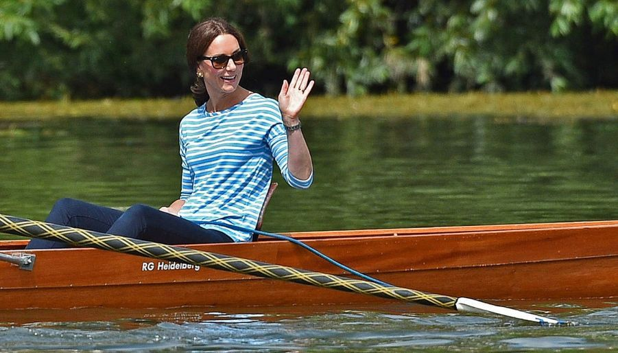 Kate Middleton Et William Font De L'aviron À Heidelberg En Allemagne 29