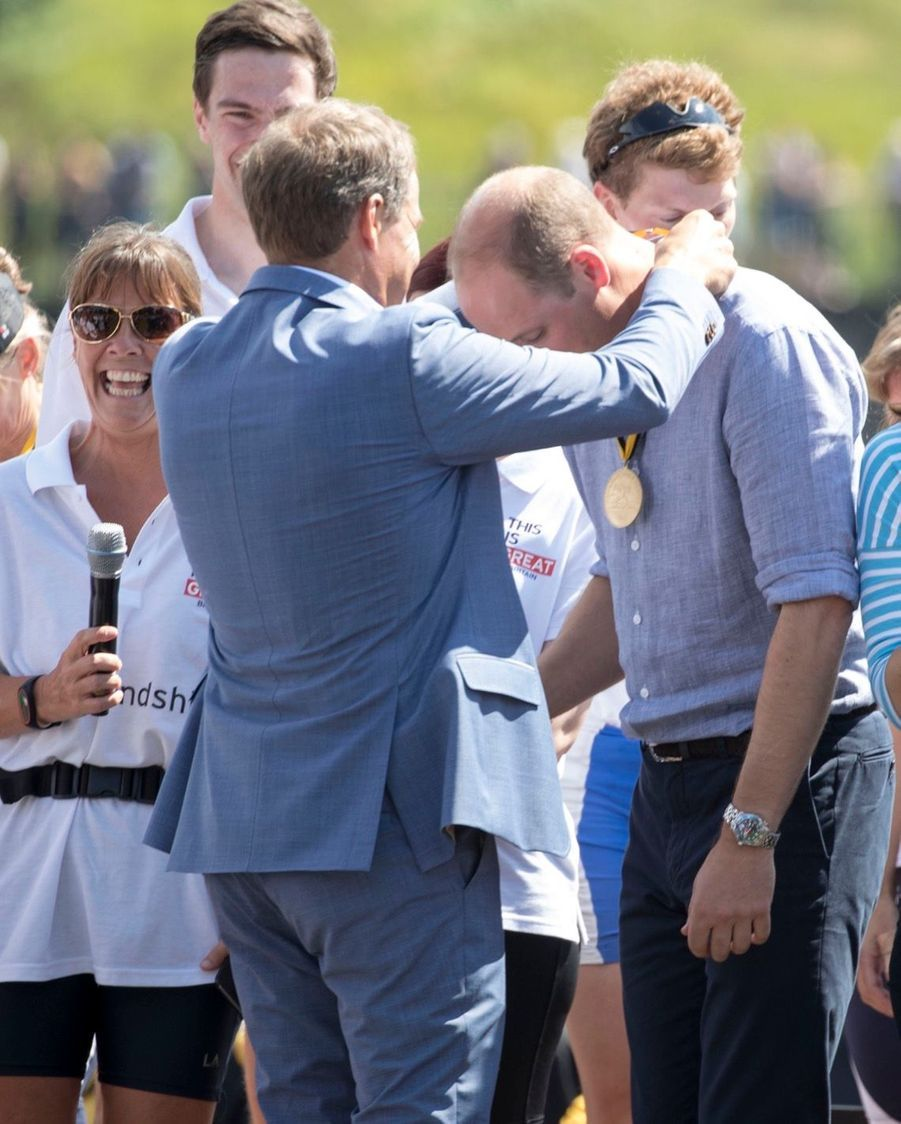 Kate Middleton Et William Font De L'aviron À Heidelberg En Allemagne 3