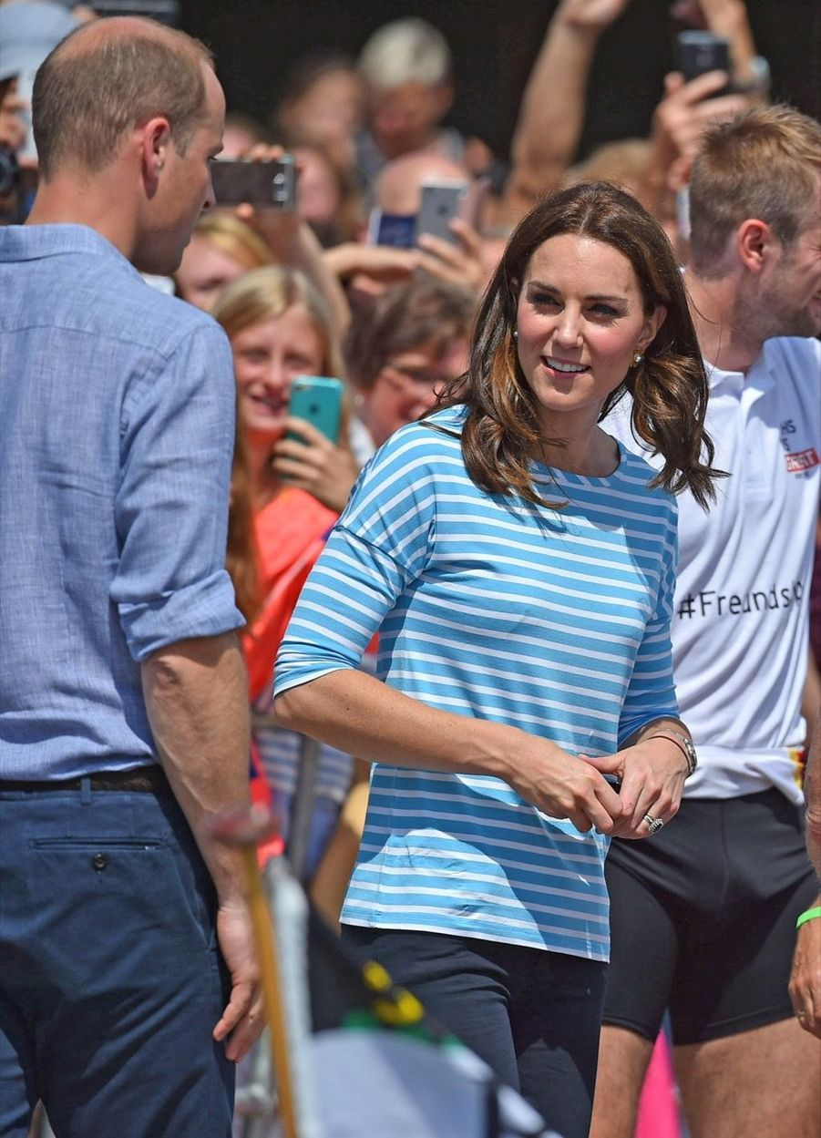 Kate Middleton Et William Font De L'aviron À Heidelberg En Allemagne 33