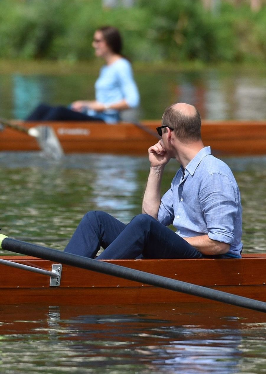 Kate Middleton Et William Font De L'aviron À Heidelberg En Allemagne 35