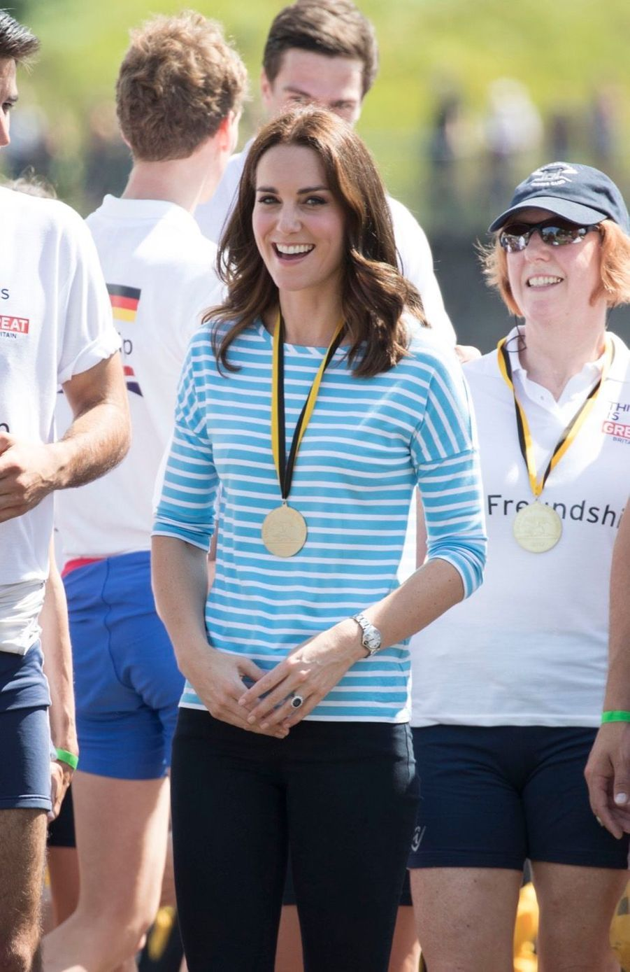 Kate Middleton Et William Font De L'aviron À Heidelberg En Allemagne 7