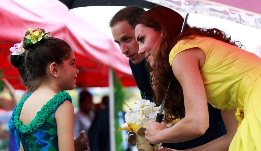 Kate, William et les enfants