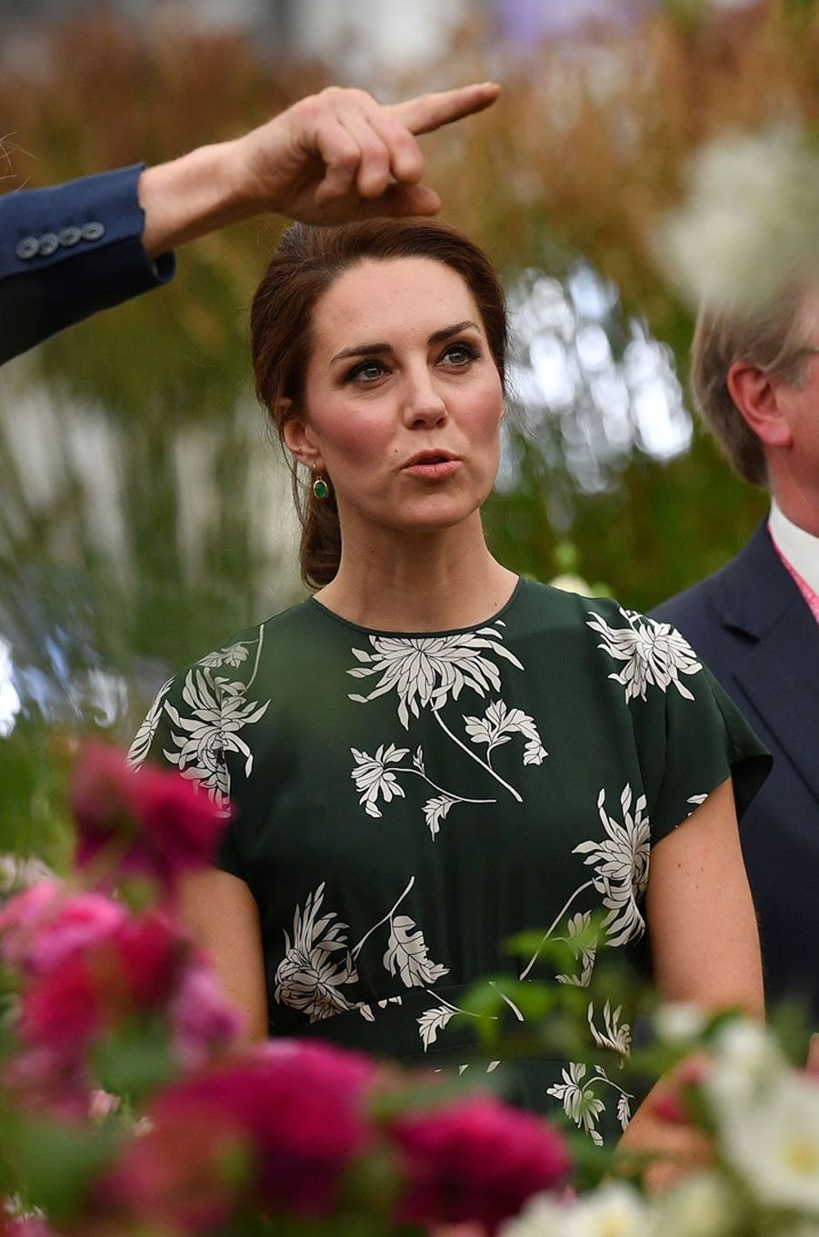 La duchesse Catherine de Cambridge à Londres le 22 mai 2017
