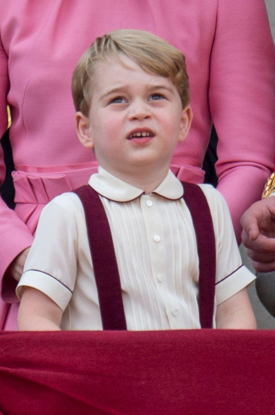 Le prince George à Londres, le 17 juin 2017