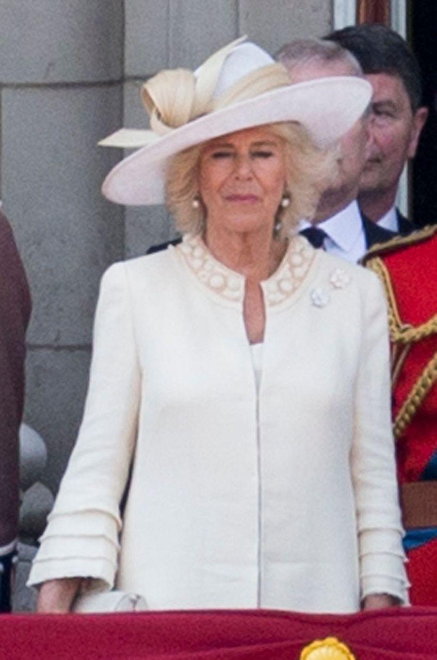 La duchesse de Cornouailles Camilla à Londres, le 17 juin 2017