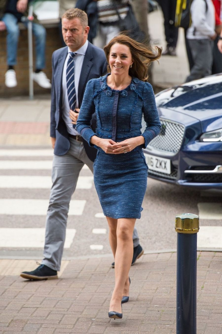 Kate Middleton En Visite Au Kings College Hospital, Le 12 Juin 1