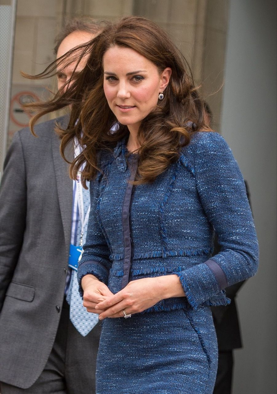 Kate Middleton En Visite Au Kings College Hospital, Le 12 Juin 10
