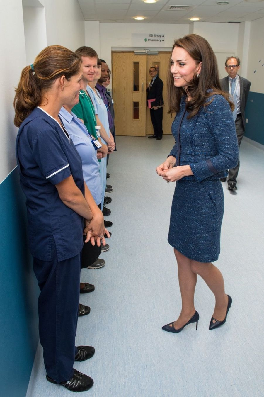 Kate Middleton En Visite Au Kings College Hospital, Le 12 Juin 5