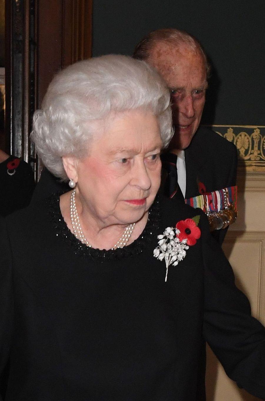 La reine Elizabeth II à Londres, le 12 novembre 2016
