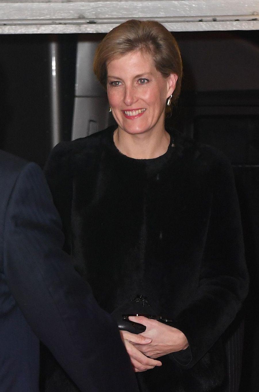 La comtesse Sophie de Wessex à Londres, le 12 novembre 2016