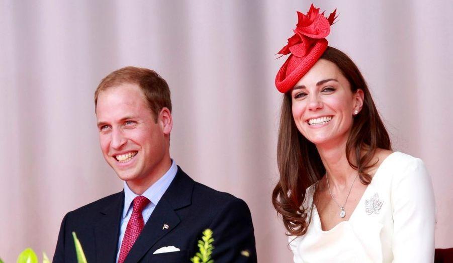 Kate et William ont assisté à la fête nationale canadienne à Ottawa.