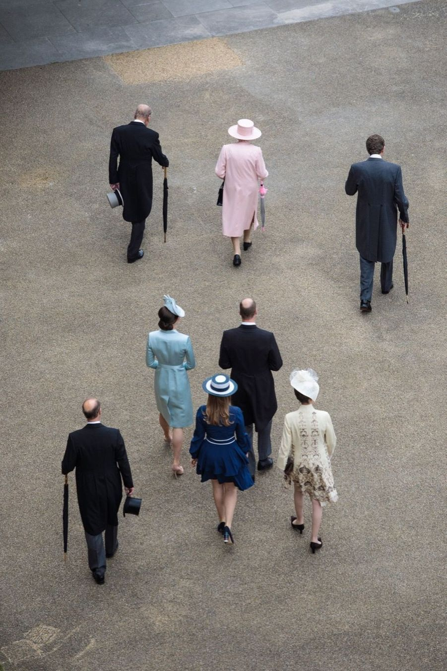 La Garden Party De Buckingham Palace 1