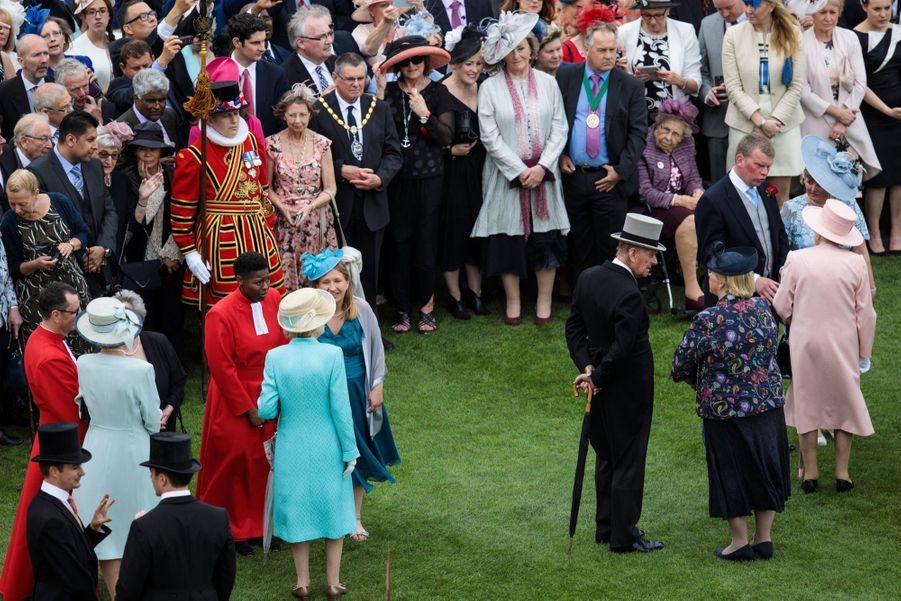 La Garden Party De Buckingham Palace 4