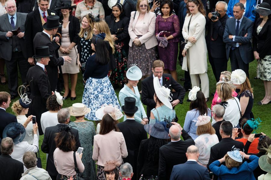 La Garden Party De Buckingham Palace 5