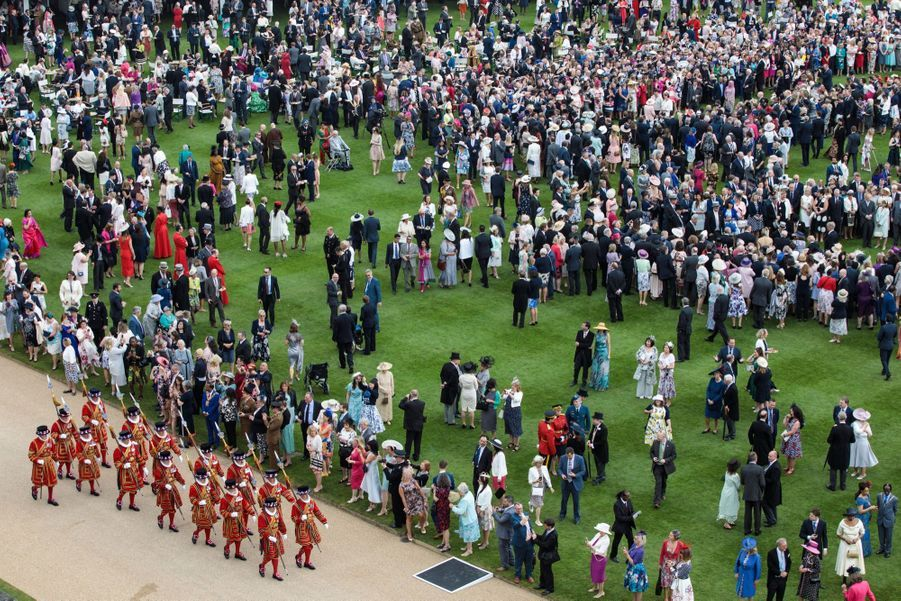 La Garden Party De Buckingham Palace 6
