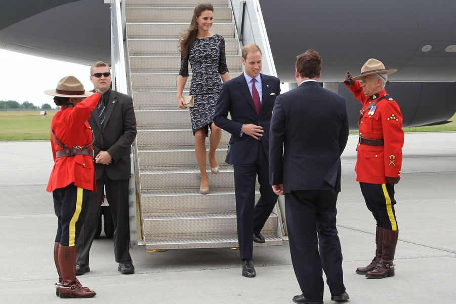 Le prince William et duchesse Catherine de Cambridge au Canada, le 30 juin 2011