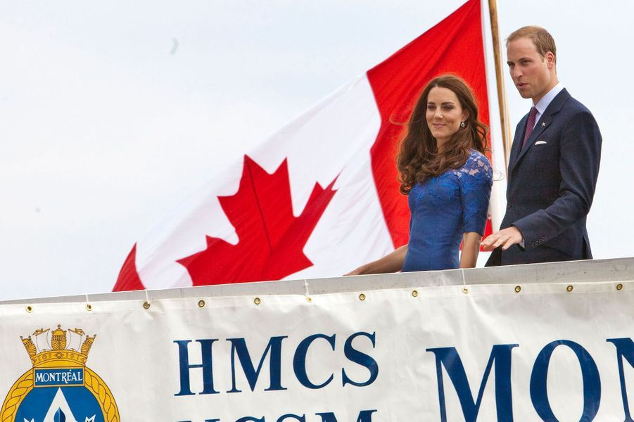 Le prince William et duchesse Catherine de Cambridge au Canada, le 3 juillet 2011