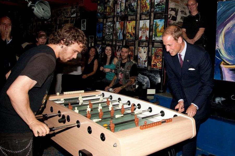 Le prince William au Canada, le 3 juillet 2011