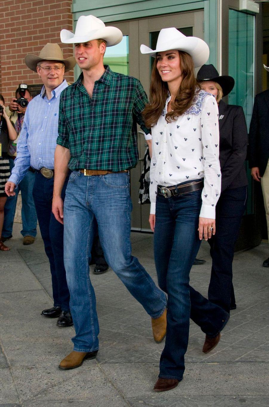 Le prince William et duchesse Catherine de Cambridge au Canada, le 7 juillet 2011