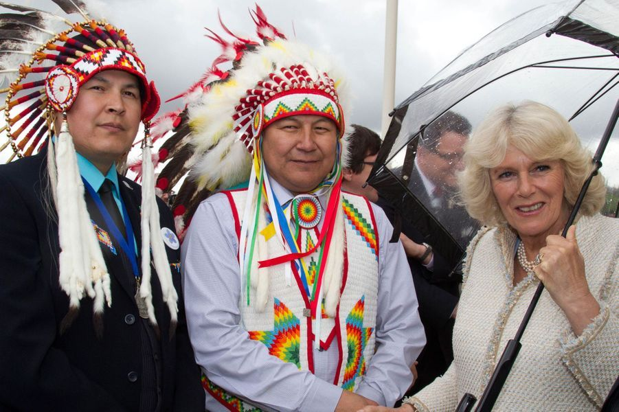 La duchesse de Cornouailles Camilla au Canada, le 23 mai 2012