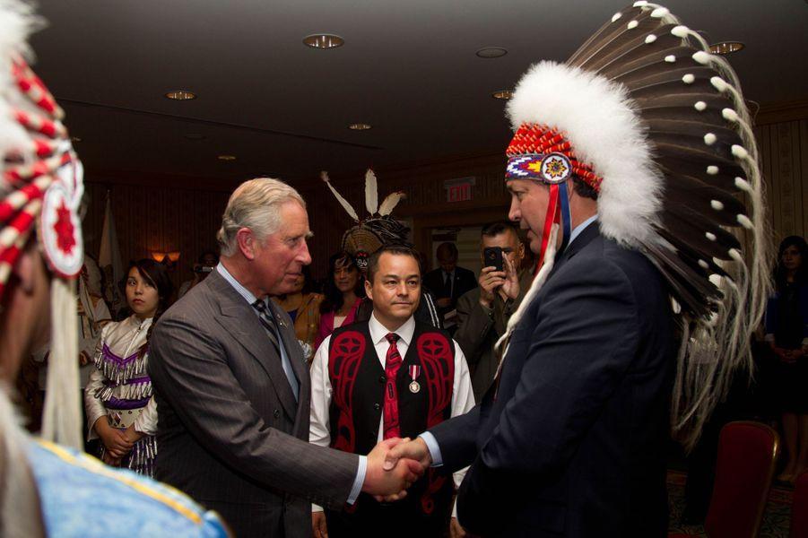 Le prince Charles au Canada, le 22 mai 2012