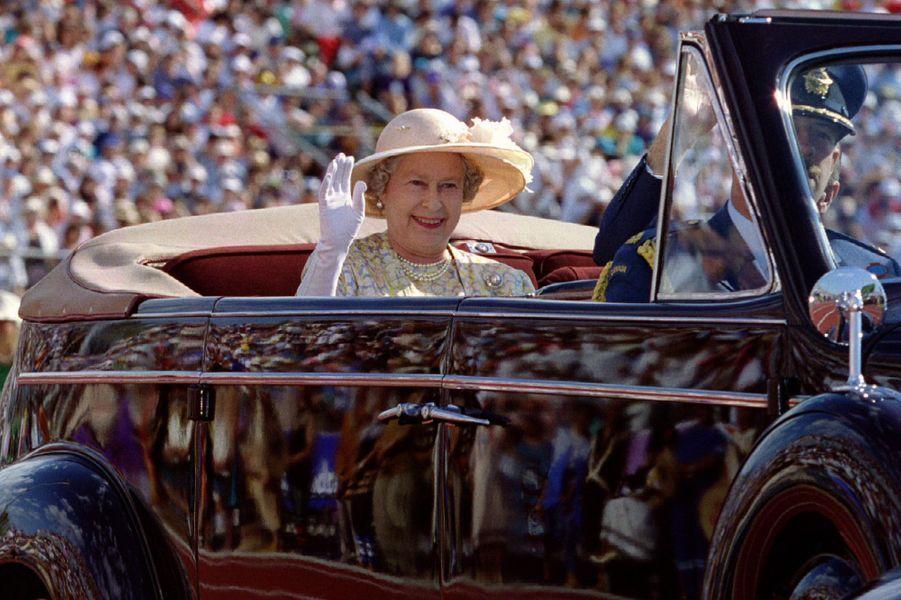La reine Elizabeth II au Canada, le 18 août 1994