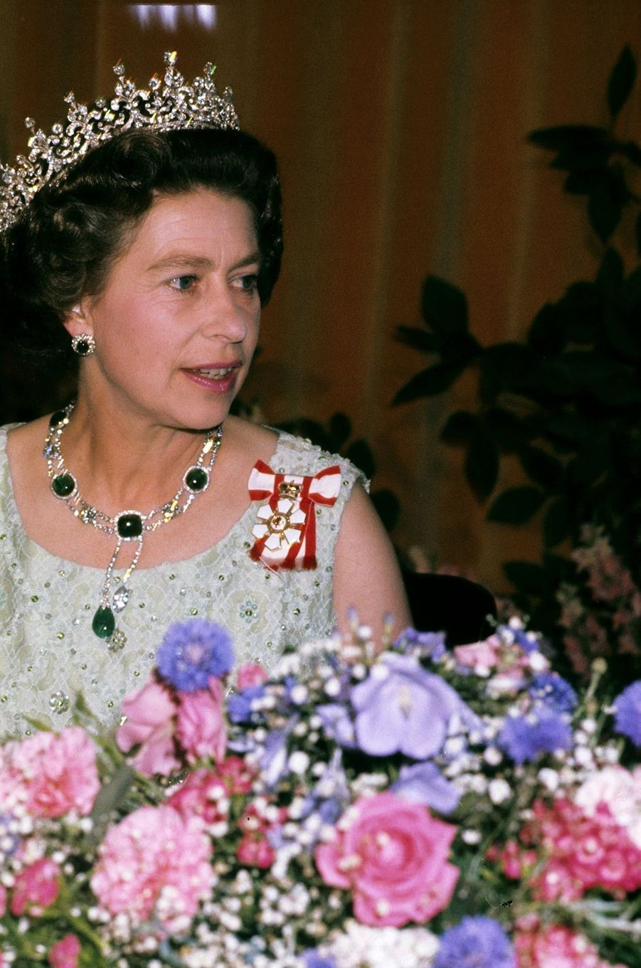 La reine Elizabeth II au Canada, le 30 août 1978