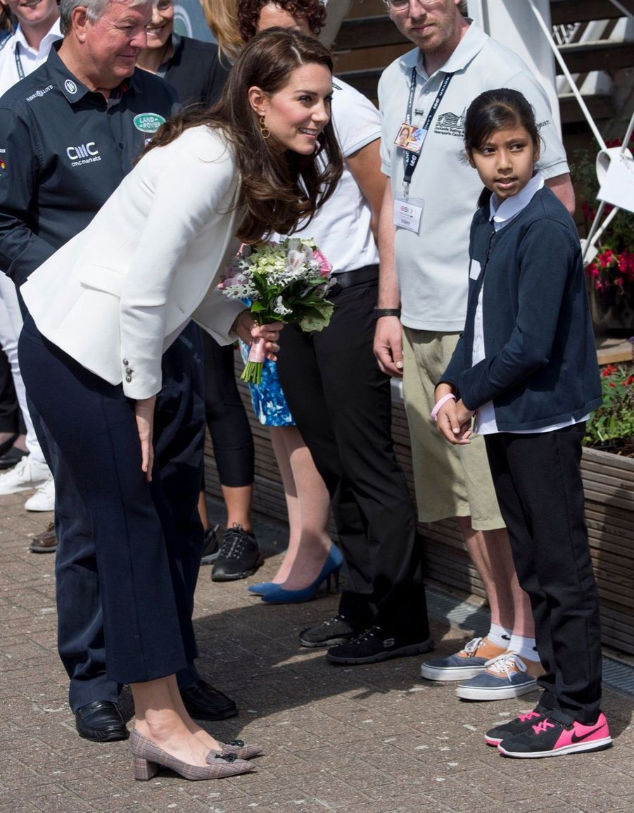 """Kate Middleton Avec Les Enfants Du """"1851 Trust"""", Vendredi 16 Juin À Londres 10"""