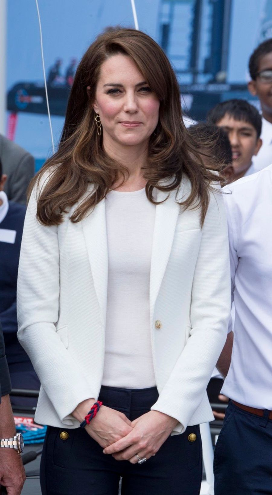 """Kate Middleton Avec Les Enfants Du """"1851 Trust"""", Vendredi 16 Juin À Londres 16"""